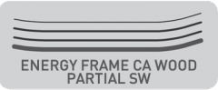 NORDICA ENERGY FRAME CA WOOD PARTIAL SW